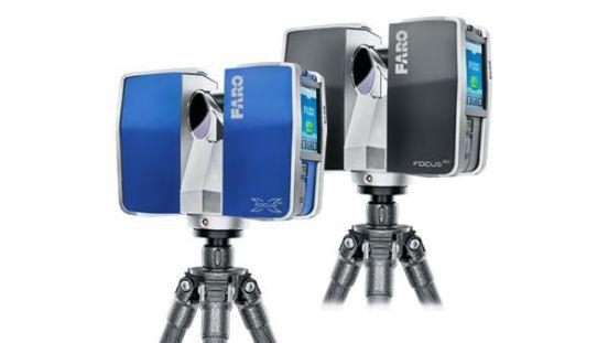 Escáner tridimensional Focus3D clipset