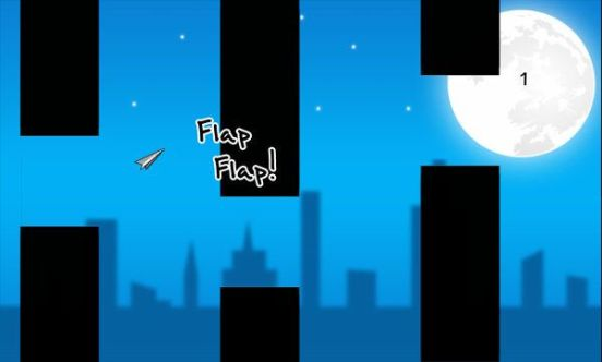 Paper Planet Flappy Game clipset