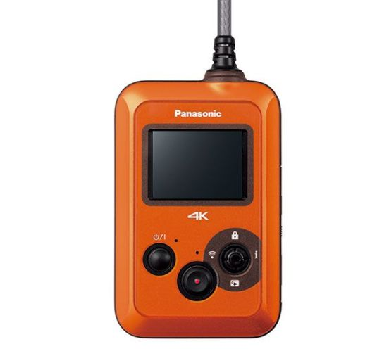 Panasonic-Wearable-Camcorder-(HX-A500)Front