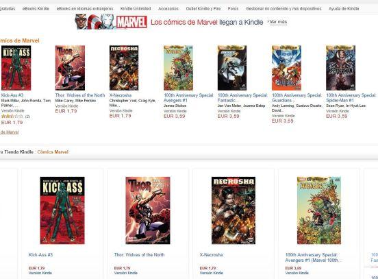 Marvel Amazon