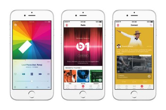 iPhone6-3Up-AppleMusic-Features