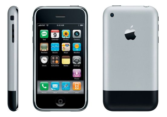 Primera versión del iPhone