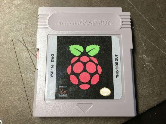 Game Boy Zer cartucho