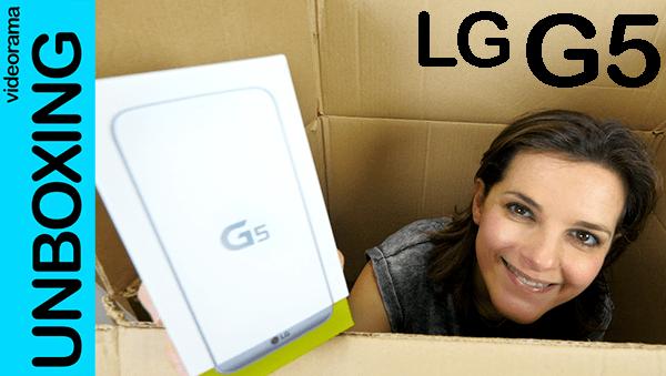 lg g5 unbox
