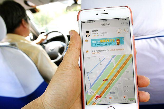 App de taxis Didi en China