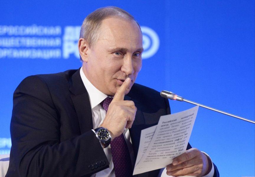 putin Rusia