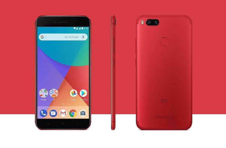 Xiaomi Mi A1 en rojo