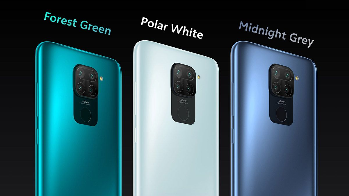 Colores del Xiaomi Redmi Note 9