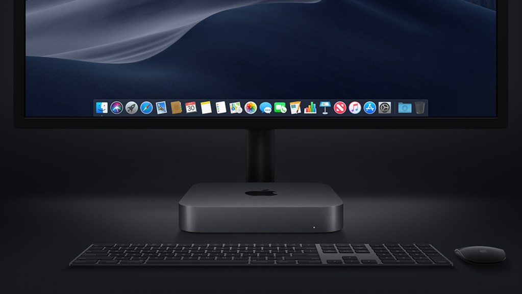 Mac mini con pantalla
