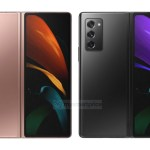 Nueva filtración del Samsung Galaxy Z Fold 2 muestra su gran pantalla exterior