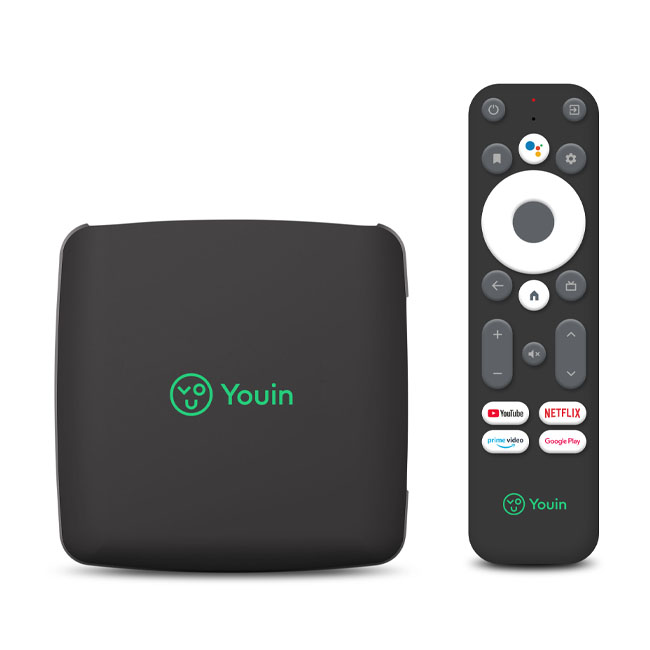 Youin you box android tv