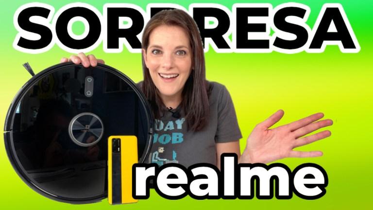 realme aspirador robot techlife