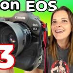 Canon oficializa la EOS R3, la cámara profesional más rápida y con Eye Control