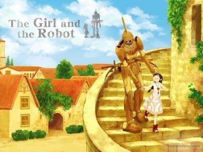 girl and robot 1