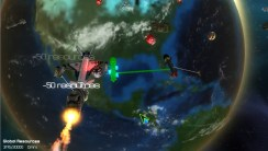 Just about every item you include can be used with just the left click, whether it's flamethrowers, lasers, rockets, etc. These come in handy during battles in space