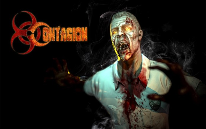 Contagion is a co-op survival horror action Kickstarter game with guns, zombies, and online play.