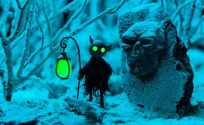 Knite And The Ghost Lights is a claymation stop motion adventure game with a creepy halloween vibe.