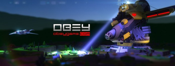Obey, a new multiplayer game on Kickstarter that features cute bunnies and a giant robot. Hilarity ensues.