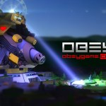 Obey is a new multiplayer game on Kickstarter that features cute bunnies and a giant robot. Hilarity ensues.