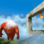Youropa is a gravity defying puzzle platformer currently funding on Kickstarter