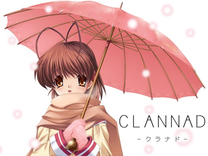 Clannad is a classic Japanese visual novel that's been re-launched on Kickstarter in hopes of getting an English translation.