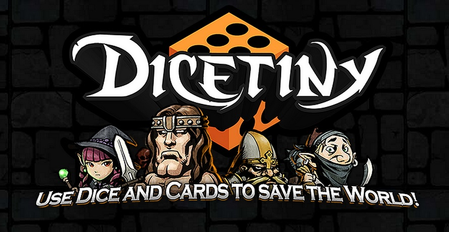 DICETINY is a Digital Tabletop Board Game with RPG & Card Collecting elements on Kickstarter.