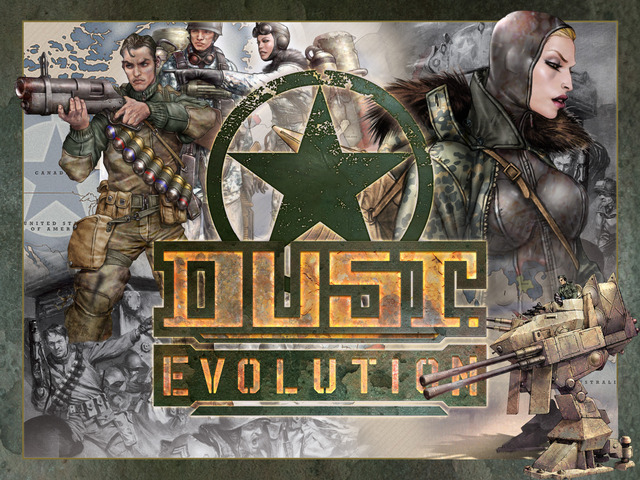 Dust.Evolution is a alternate-history Real-Time Combat Strategy game where WWII rages on and its funding on Kickstarter