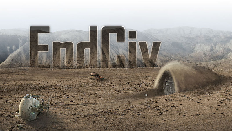 EndCiv is a survival city building game set in a post-apocalyptic world that's crowdfunding on IndieGogo.