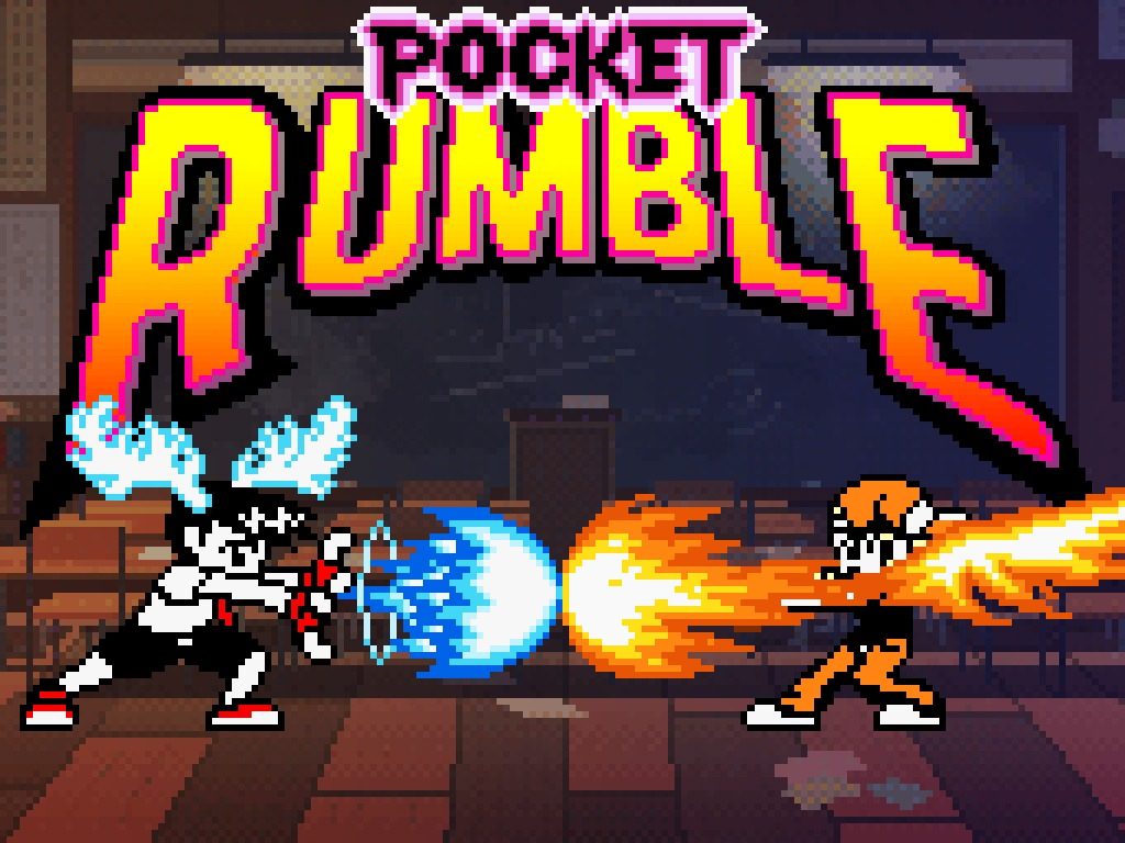 Pocket Rumble is a Neo Geo pocket inspired fighting game that's funding on Kickstarter.