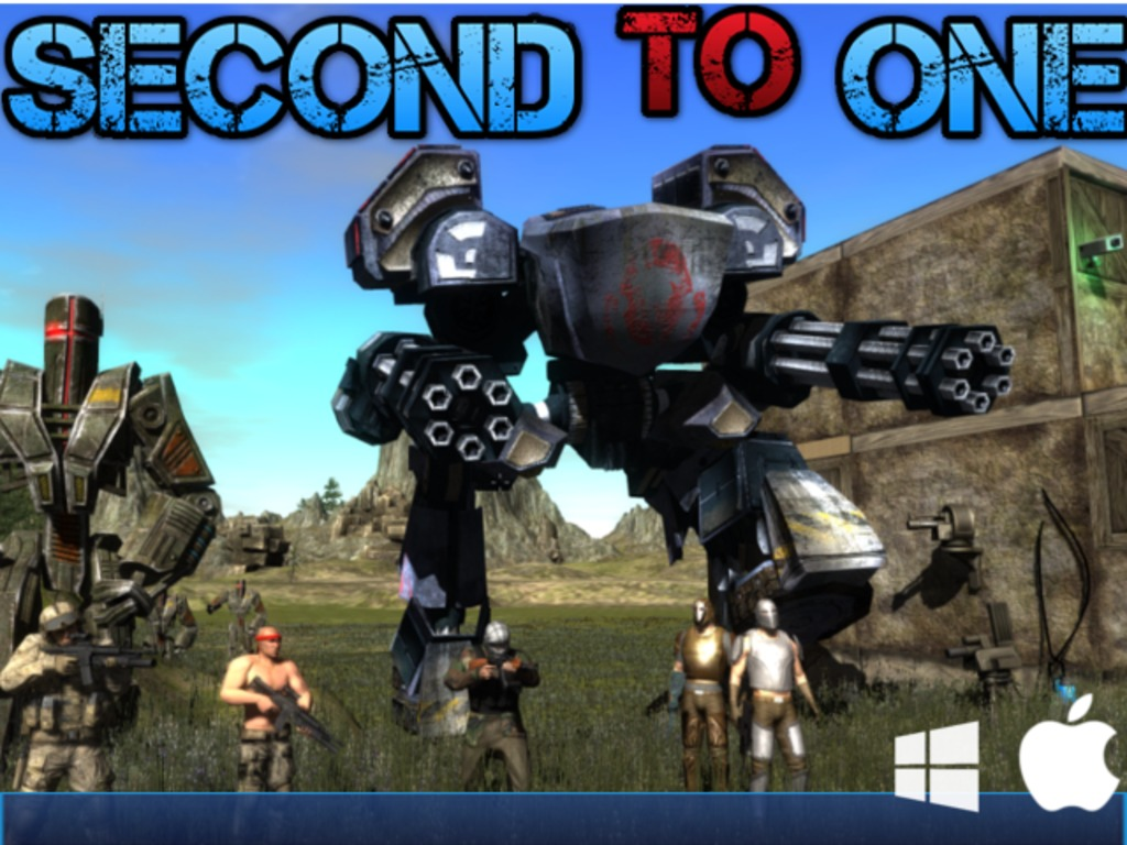 Second to One is a survival sim on Kickstarter that features huge mechs, crafting, and much more.