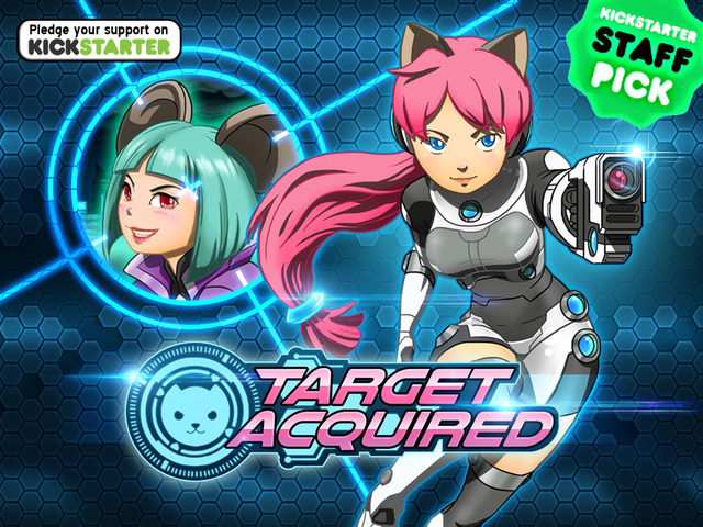 Target Acquired is a platformer video game now on Kickstarter thats a cross between Mega Man and Temple Run.