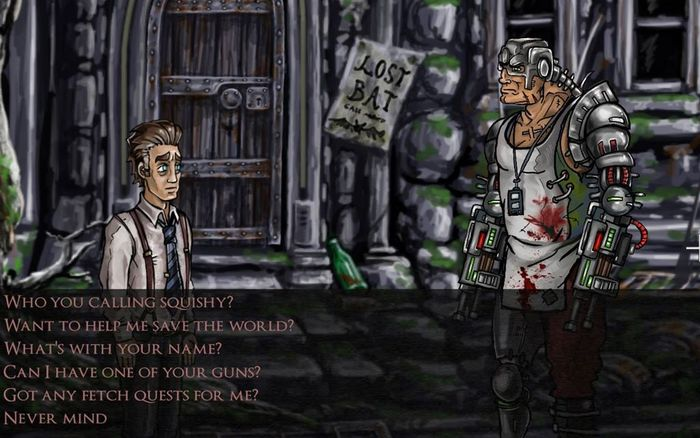 Vincent the Vampire is a Point and Click Adventure with Bite