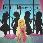 But I Love You is a visual novel dating sim thats crowdfunding on Kickstarter that has a somewhat scary take on the genre.
