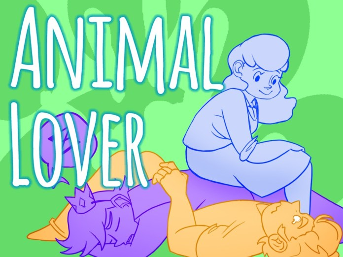 Animal Lover is a Visual Novel on Kickstarter about guys from the past that used to be animals but are now human again.