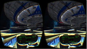 Eridanus Wars is a space sim that's for use with the Oculus Rift.