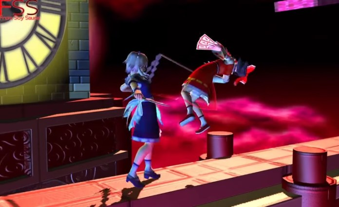 Touhou Super Smash Battles is a fighting game that's currently crowdfunding on IndieGogo.