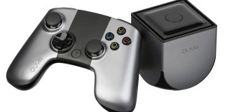 The Ouya is a Kickstarter funded gaming console that runs on Android.
