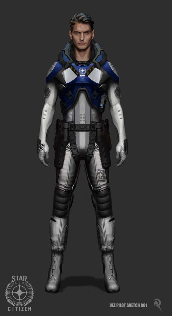 Star Citizen Class II Space Suit