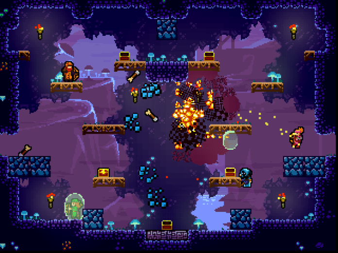 Towerfall was a bright spot in an otherwise bleak Ouya game lineup.
