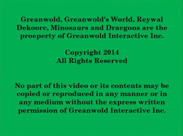 The legal warning at the end of the Greanwold World Kickstarter video