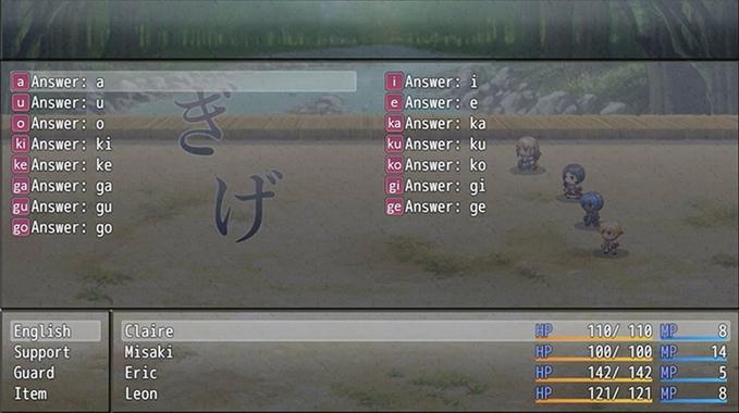 Hiragana Battle
