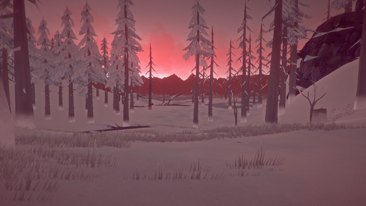 Surviving in The Long Dark's Forlorn Muskeg