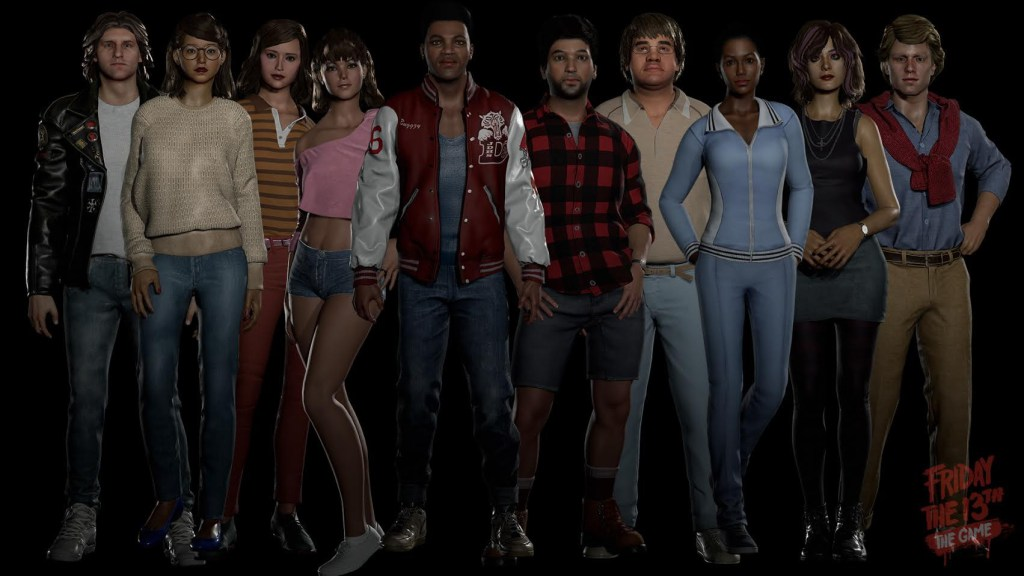 Selecting Your Counselor Main For Friday The 13th The Game