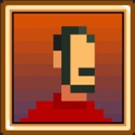 Pixelated portrait of artist Paul Conway.