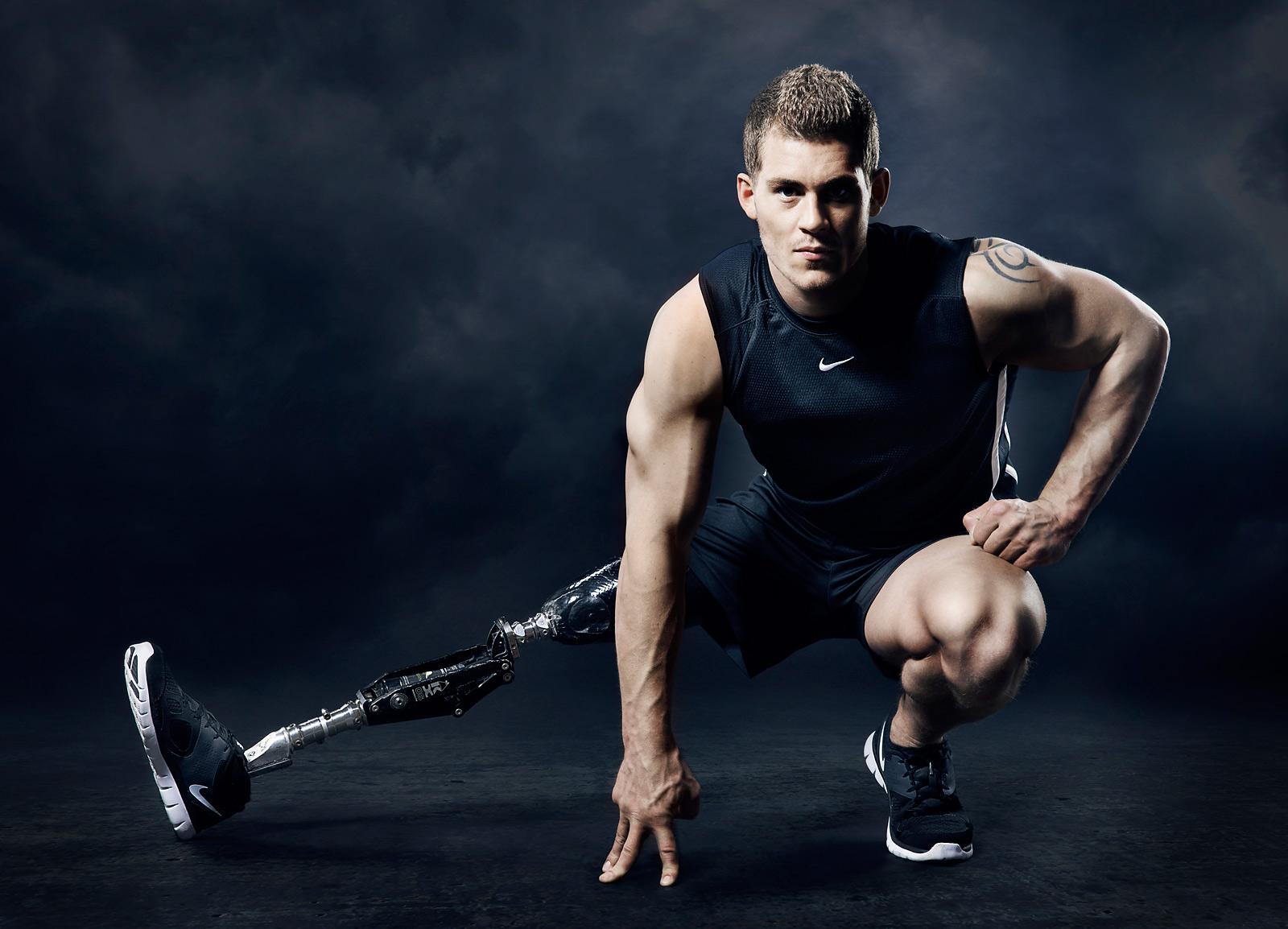 Disabled male model Jack eyers