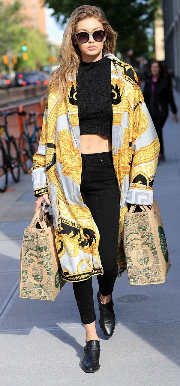 When Gigi Hadid wore this to Whole Foods…