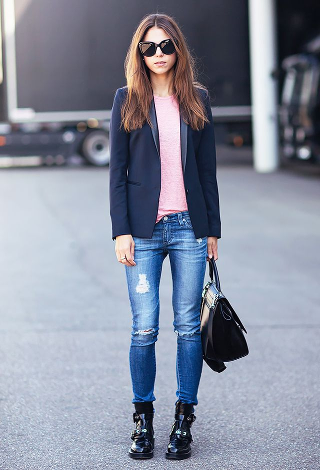 Fall Bootcut Jeans And Shoes