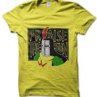 Praise the Sun knight Dark Souls t-shirt by Clique Wear