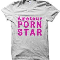 Amateur Porn Star t-shirt by Clique Wear
