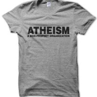 Atheism: a non-prophet organization t-shirt by Clique Wear